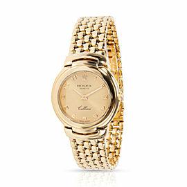 Rolex Cellini 6621/8 Women's Watch in 18kt Yellow Gold
