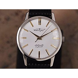 Citizen Jet Automatic 1960s Rare Made in Japan Men's Stainless 36mm Watch DSI46