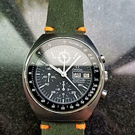 Men's Omega Speedmaster Mark 4.5 Chronograph Ref.176.0012 42mm, 1980s LV289GRN