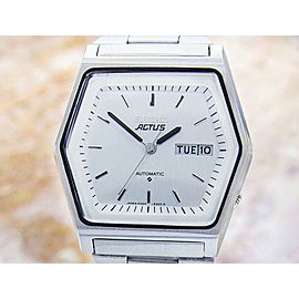 Seiko Actus 6309-513C 38mm Mens Authentic 1970s Made In Japan Vintage Watch JR54