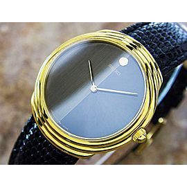 Seiko ref 220-0520 1980s 33mm Gold Plated Japan Men's Manual Classic Watch L191