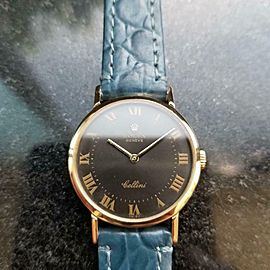 Ladies Rolex Cellini Geneve Ref.4109 26mm 18k Gold Manual-Wind, c.1970s LV858BLU