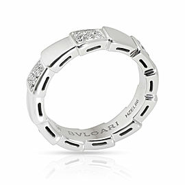 Bulgari Viper Diamond Ring in 18K White Gold 0.43 CTW