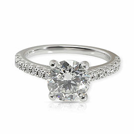 Ritani GIA Certified Round Diamond Engagement Ring in 14K Gold I VS1 1.97 CTW