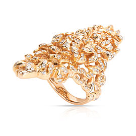 Vintage Repossi Cocktail Diamond Ring in 18K Yellow Gold 1.75 CTW
