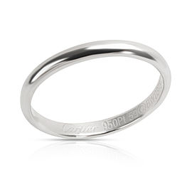 Cartier 2.5 mm Men's Wedding Band in Platinum