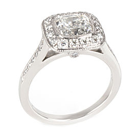 Tiffany & Co. Legacy Diamond Engagement Ring in Platinum G VS1 1.96 CTW