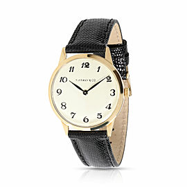 Tiffany & Co. Dress Dress Unisex Watch in 18kt Yellow Gold