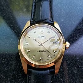 Men's Tudor Prince Date ref.740001 34mm Gold-Capped Automatic, c.1980s LV955