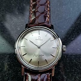 OMEGA 31mm Mid-Size Seamaster DeVille 1960s Manual-Wind Vintage Watch LV640