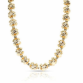 Tiffany & Co. X Necklace in 18K Yellow Gold