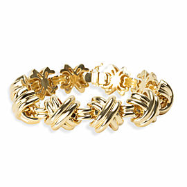 Tiffany & Co. X Bracelet in 18K Yellow Gold