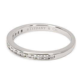 Tiffany & Co. Diamond Channel Set Band in Platinum (0.17 CTW F-G/VS)