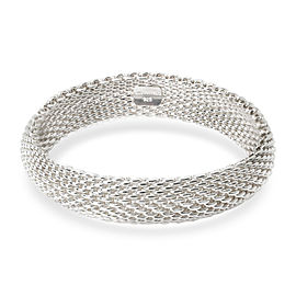 Tiffany & Co. Somerset Mesh Bracelet in Sterling Silver