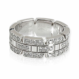 Cartier Tank Francaise Diamond Band in 18K White Gold 0.44 CTW