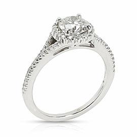 Ritani GIA Certified Diamond Engagement Ring in Palladium G VS2 1.3 CTW