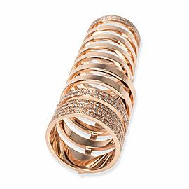 Repossi Berbere Diamond Ring in 18K Rose Gold 1.6 CTW