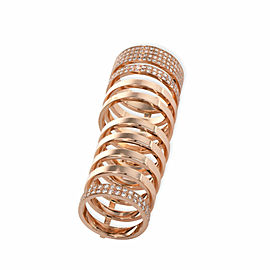 Repossi Berbere Diamond Ring in 18K Rose Gold 1.6 CTW