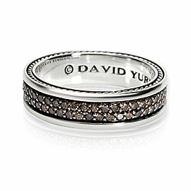 David Yurman Streamline Diamond Men's Ring in Sterling Silver 1.75 CTW