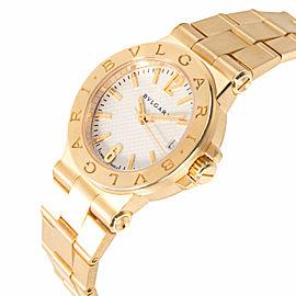 Bulgari Diagono DG 29 G Women's Watch in 18kt Yellow Gold