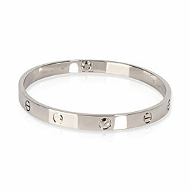 Cartier Love Bracelet in 18K White Gold