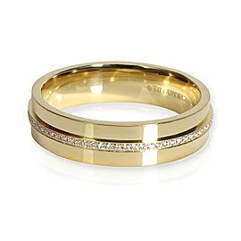 Tiffany & Co. Tiffany T Diamond Ring in 18K Yellow Gold 0.12 CTW