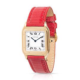 Cartier Santos 9605 Women's Watch in 18kt Yellow Gold