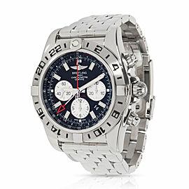 Breitling Chronomat GMT AB0413B9/BD17 Men's Watch in Stainless Steel