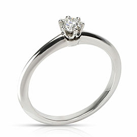Tiffany & Co. Diamond Engagement Ring in Platinum I VS1 0.24 CTW
