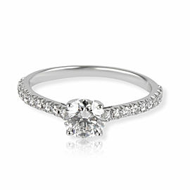Tiffany & Co. Novo Diamond Engagement Ring in Platinum GIA G VS1 0.85 CTW