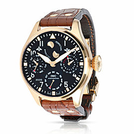 IWC Big Pilot Perpetual Calendar IW502608 Men's Watch in 18kt Rose Gold