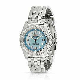 Breitling Callistino A72345 Women's Watch in Stainless Steel