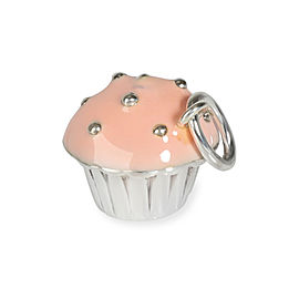 Tiffany & Co. Cupcake Charm in Sterling Silver