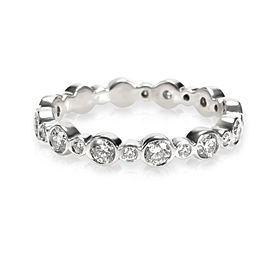 Tiffany & Co. Jazz Diamond Eternity Band in Platinum 0.62 CTW