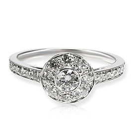Tiffany & Co. Tiffany Circlet Diamond Ring in Platinum 0.76 CTW