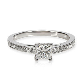 Tiffany & Co. Diamond Engagement Ring in Platinum E VS1 0.52 CTW