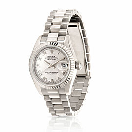 Rolex Datejust 179179 Women's Watch in 18kt White Gold
