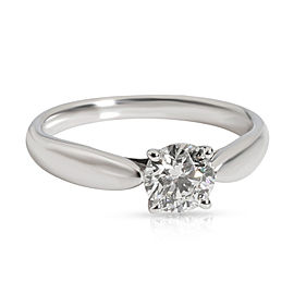 Tiffany Harmony Diamond Engagement Ring in Platinum F VVS2 0.55 C