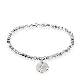 Tiffany Notes Bead Bracelet in Sterling Silver