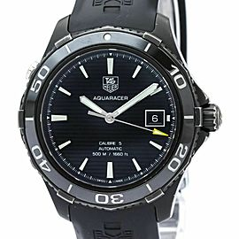 TAG HEUER Aquaracer 500M Calibre 5 Steel Automatic Mens Watch WAK2180