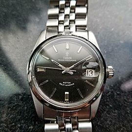 Mens Tudor Prince Oysterdate ref.7996 34mm Date Automatic c.1960s Swiss LV606