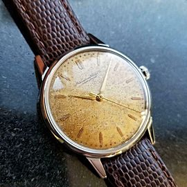 Mens IWC Schaffhausen cal.89 35mm Hand-Wind Dress Watch, c1950s Vintage LV739