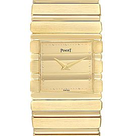 Piaget Polo 18K Yellow Gold Mens Watch 7131