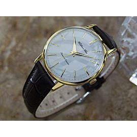 Mens Citizen Ace 37mm Gold-Plated Hand-Wind Dress Watch, c,1960s Vintage W26