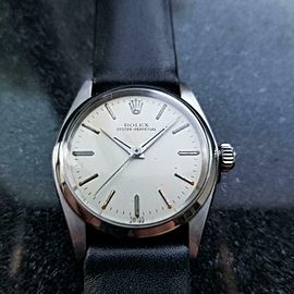 Mens Rolex Midsize Oyster Perpetual ref.6548 30mm Automatic, c.1950s LV745BLK