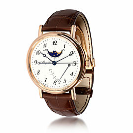 Breguet Classique Moonphase Power-Reserve 7787BR/29/9V6 Men's Watch in 18kt Rose