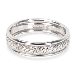 David Yurman Men's Rope Band in Sterling Silver (6 mm)