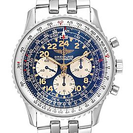 Breitling Navitimer Cosmonaute Exhibition Caseback Mens Watch D12023