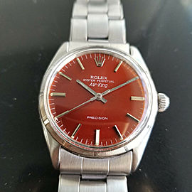 "Mens Rolex Oyster Precision 1003 ""Air-King"" 34mm Automatic, c.1960s Swiss RA114"