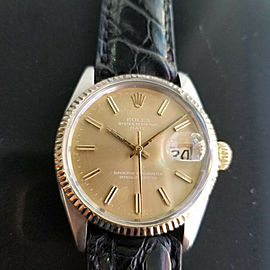Mens Rolex Oyster Perpetual Date Ref.1505 35mm Automatic, c.1970s Swiss RA146
